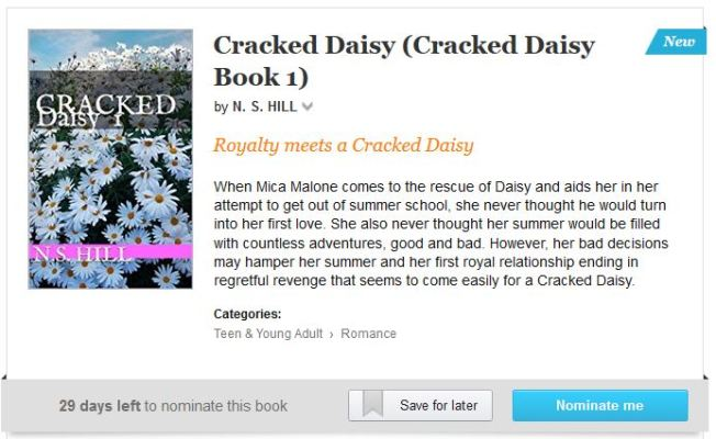 Cracked Daisy Kindle Scout